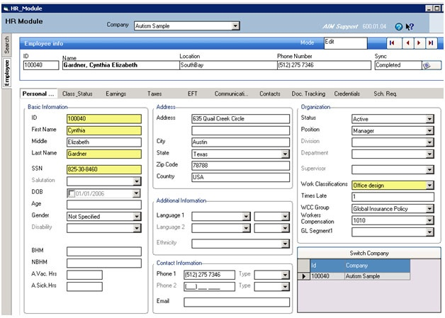 Functions - Human Resource